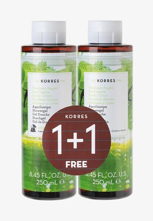 BASIL LEMON 1+1 SHOWER GEL SET - Bad- & bodyset - -
