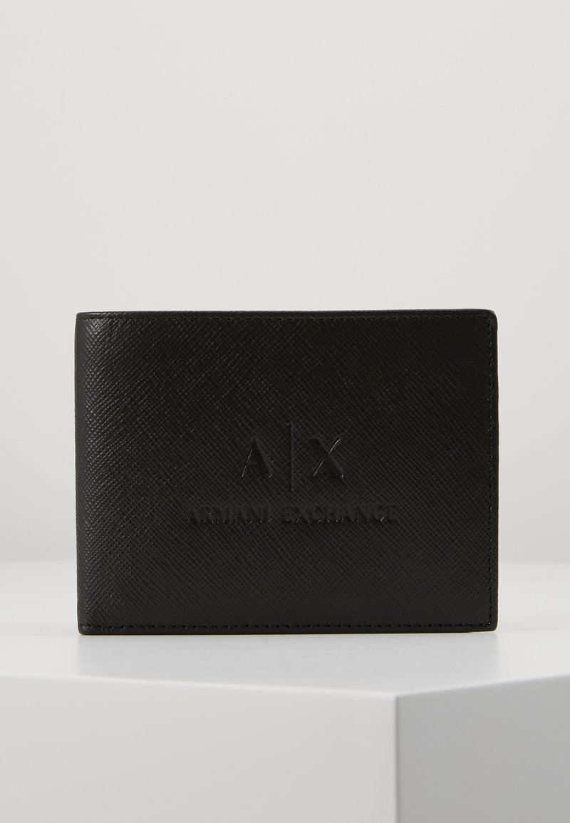 Armani Exchange - TRIFOLD - Wallet - black