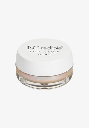 INC.REDIBLE YOU GLOW GIRL IRIDESCENT JELLY - Rozświetlacz - 10343 more fizz, less biz