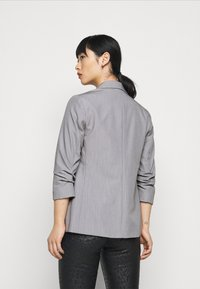 Dorothy Perkins Petite - ROUCHED SLEEVE - Blazer - dark grey - 2