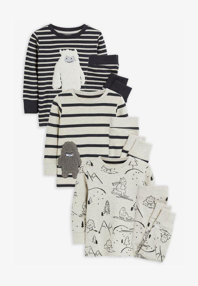 3 PACK  - Pyjama set - grey