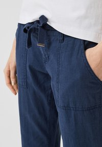 Q/S designed by - Trousers - navy - 3