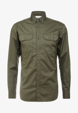 JCOGERALDTON SHIRT MIX SLIM FIT - Skjorta - forest night