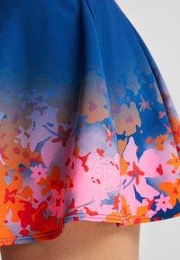 BIDI BADU - MORA  - Minisukně - dark blue/pink/flame - 5