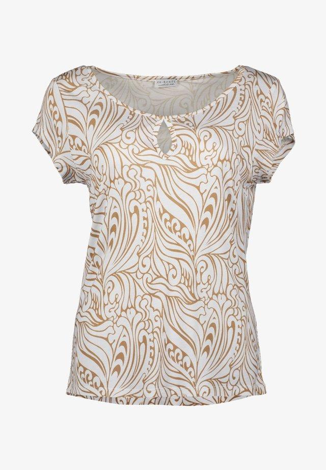 PAISLEY - T-shirt print - print light blue