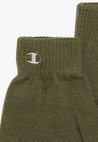 Champion - BEANIE GLOVES SET  - Hansker - olive - 4