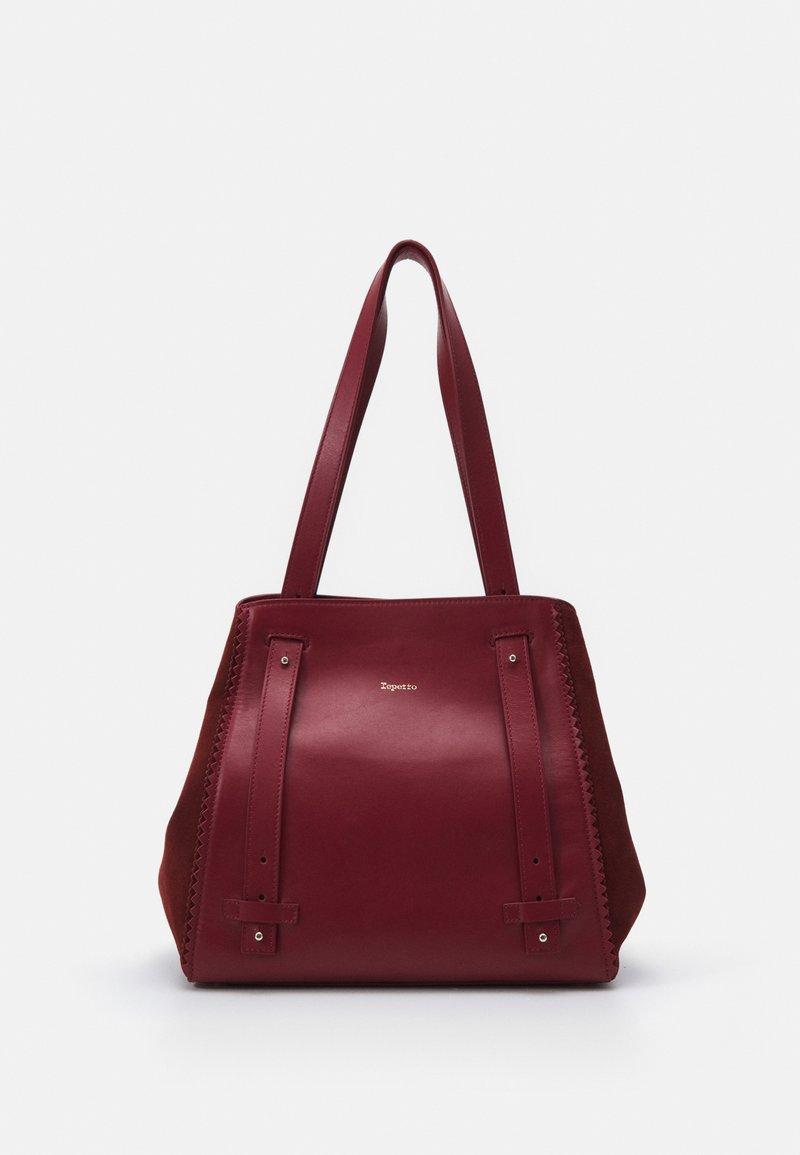 Repetto - DOUBLE VIE - Handbag - carmin