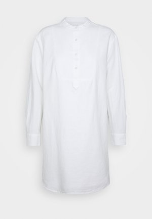 Shirt dress - fresh white
