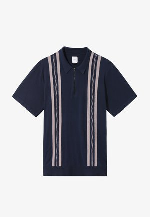 MN RIDGEWAY SWEATER POLO - Sweatshirt - dress blues