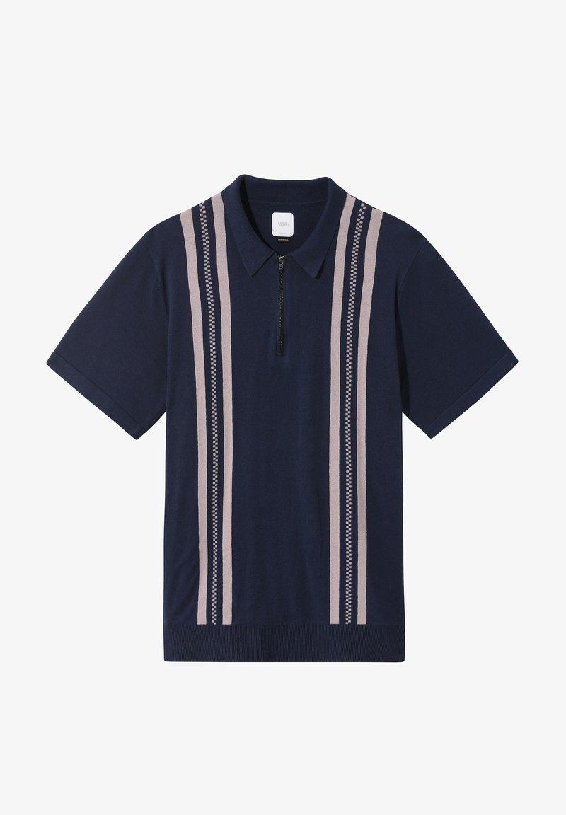 Vans MN RIDGEWAY SWEATER POLO - Sweatshirt - dress blues/dunkelblau ol7pcN