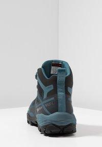 Mammut - DUCAN MID GTX - Hiking shoes - black/light poseidon - 3