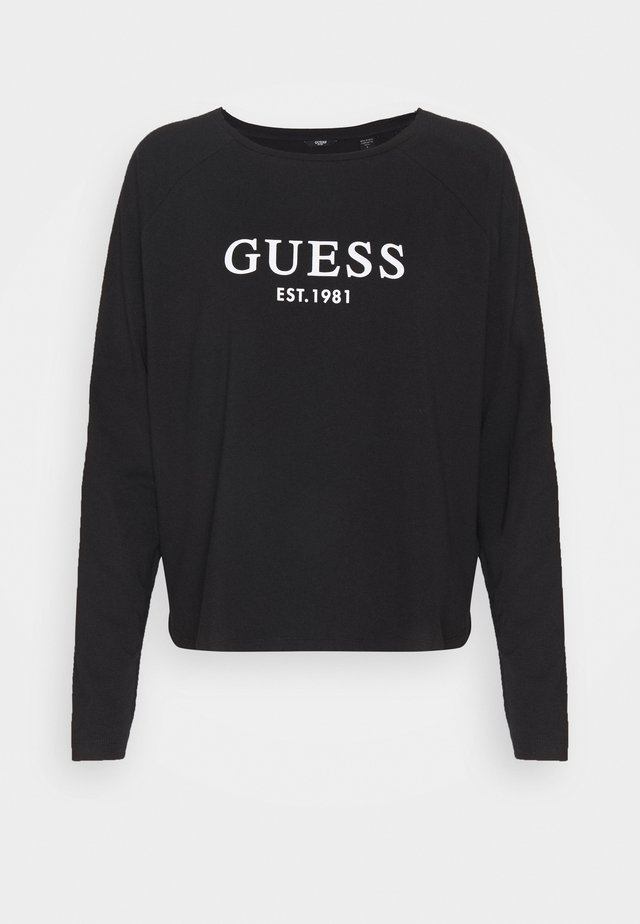 CREW NECK  - Pyjama top - jet black