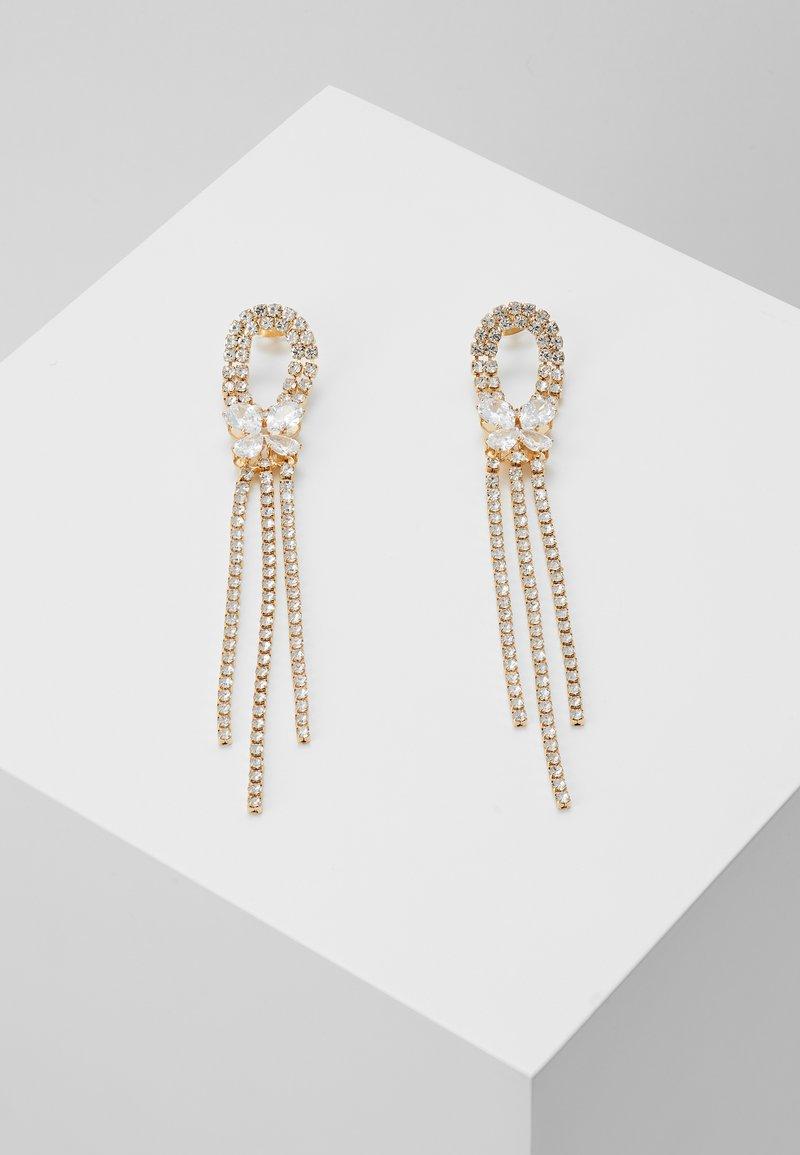 ONLY - ONLDROPSTONE EARRINGS - Orecchini - gold-coloured