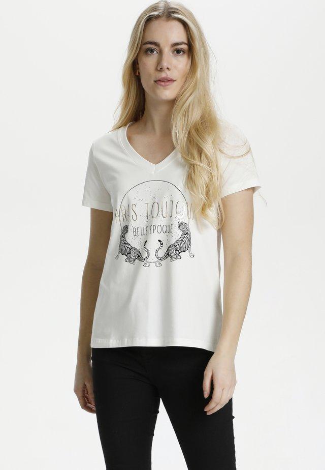 T-shirt print - spring gardenia