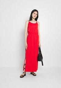 Vila - VIDREAMERS SINGLET - Maxi dress - flame scarlet - 1