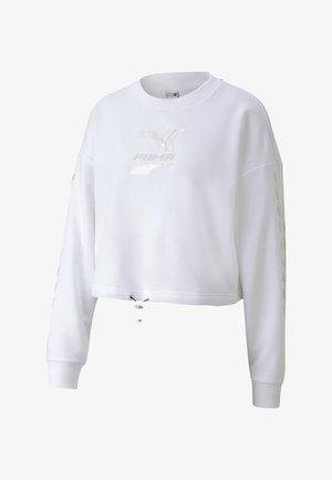 EVIDE CREW - Sweatshirts -  white