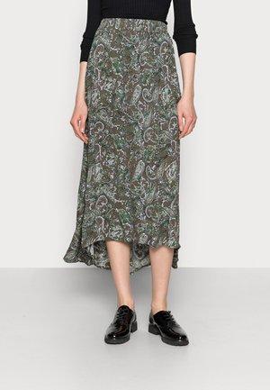 EVITY AMBER SKIRT - Maxi skirt - green