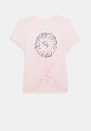 TECH CORE - Print T-shirt - pink
