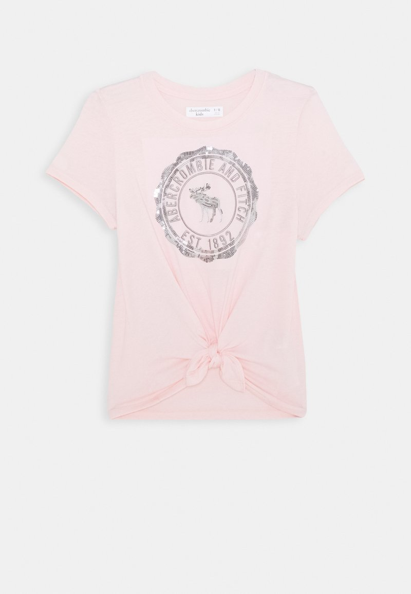 Abercrombie & Fitch - TECH CORE - T-shirts print - pink