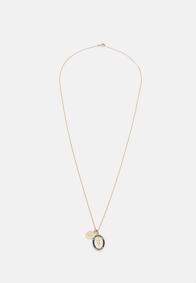 VICTORIA PENDANT NECKLACE UNISEX - Collana - gold-coloured