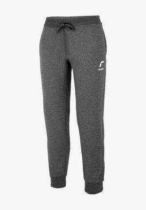 Tracksuit bottoms - dark grey / white