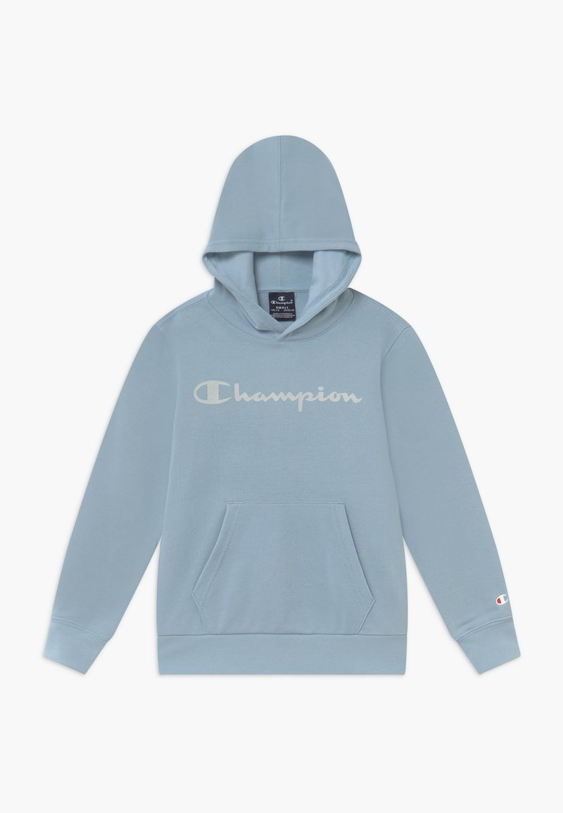 Champion - LEGACY AMERICAN CLASSICS HOODED - Jersey con capucha - light blue