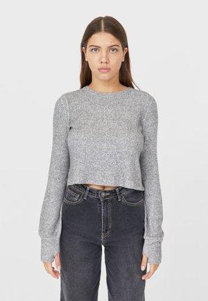MIT PATENTMUSTER  - Jumper - light grey