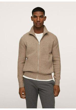 WOOLYZ - Zip-up sweatshirt - open beige