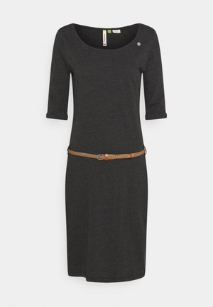 TAMILA  - Jersey dress - dark grey