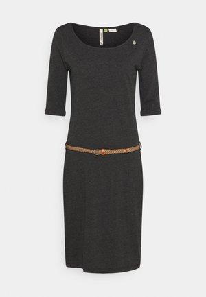 TAMILA  - Žerzejové šaty - dark grey