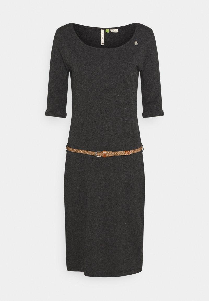 Ragwear - TAMILA  - Jerseykjole - dark grey