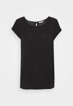 ONLNOVA LUX SOLID - Basic T-shirt - black