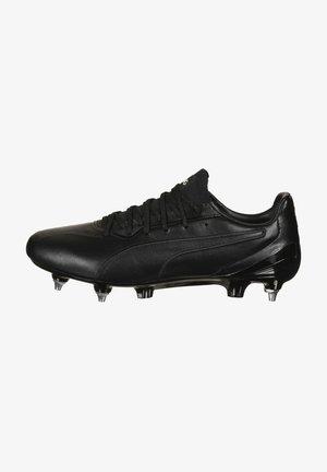 KING PLATINUM MG  - Botas de fútbol - black /  white
