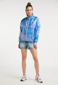 myMo - Waterproof jacket - blue holographic - 1