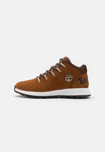 SPRINT TREKKER MID - Lace-up ankle boots - rust