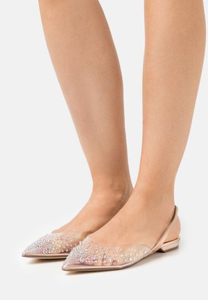 JOSEY - Slingback ballet pumps - rose gold