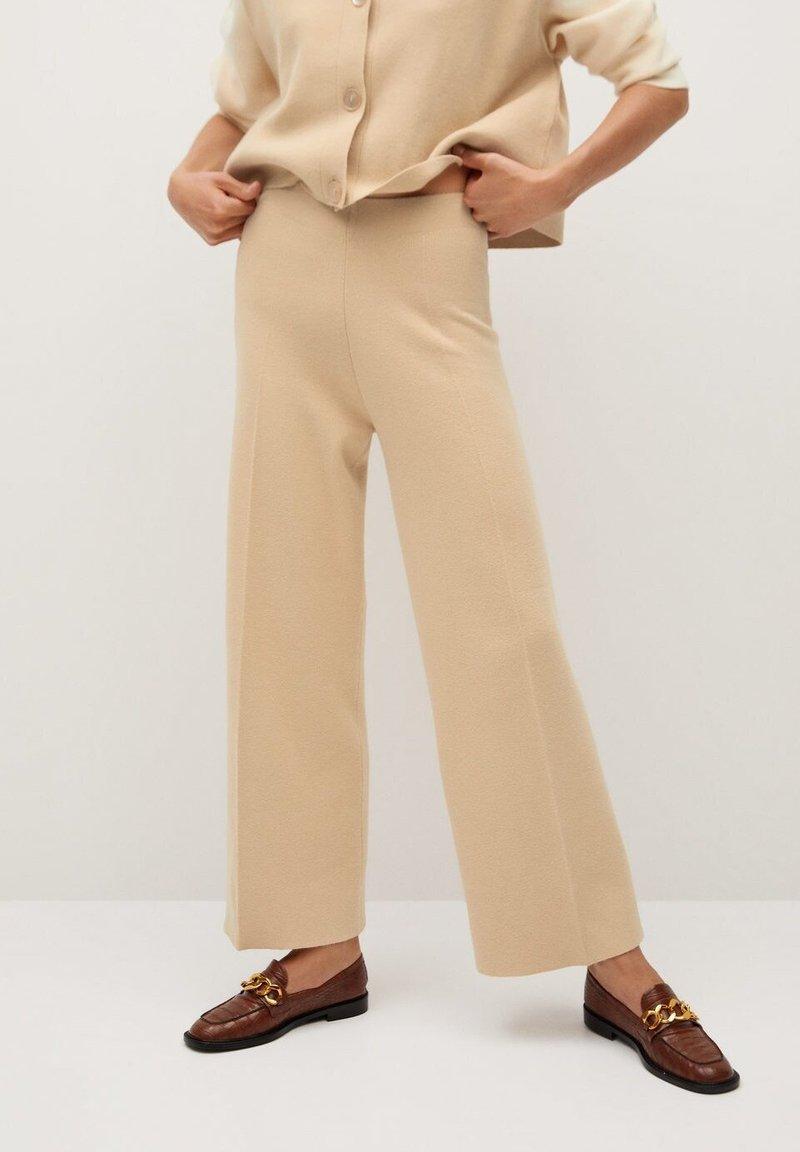 Mango - SPLASH - Pantalones - písková