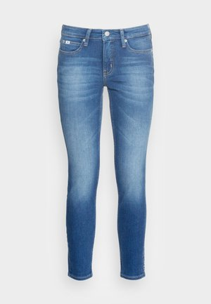 MID RISE SKINNY ANKLE - Jeans Skinny Fit - blue