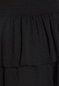 Gina Tricot - LIZETTE SMOCK SKIRT - A-line skirt - black - 2