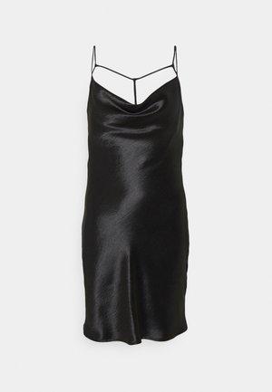 MINKY MINI DRESS - Vestido informal - black