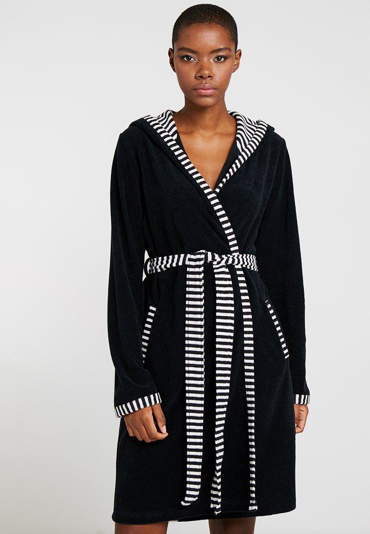 Vossen - JUNO - Dressing gown - schwarz