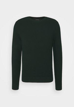 ANDY STRUCTURE C-NECK - Stickad tröja - hunter green