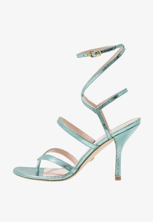 JULINA  - Sandály na vysokém podpatku - teal