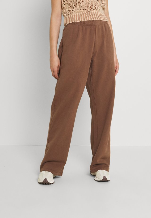 NEUTRALS JOGGER IN RELAXED FIT - Tracksuit bottoms - brown