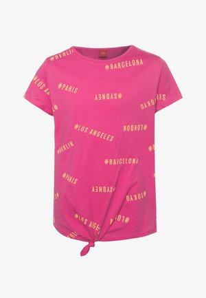 KURZARM - T-shirt imprimé - pink