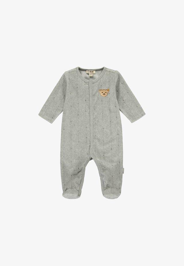 RAINDROPS - Jumpsuit - soft grey melange