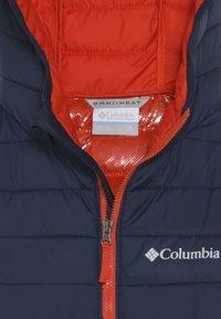 Columbia - POWDER LITE BOYS HOODED - Laskettelutakki - super blue - 4