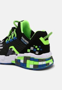 Skechers - MEGA-CRAFT - Trainers - black/blue/lime - 6