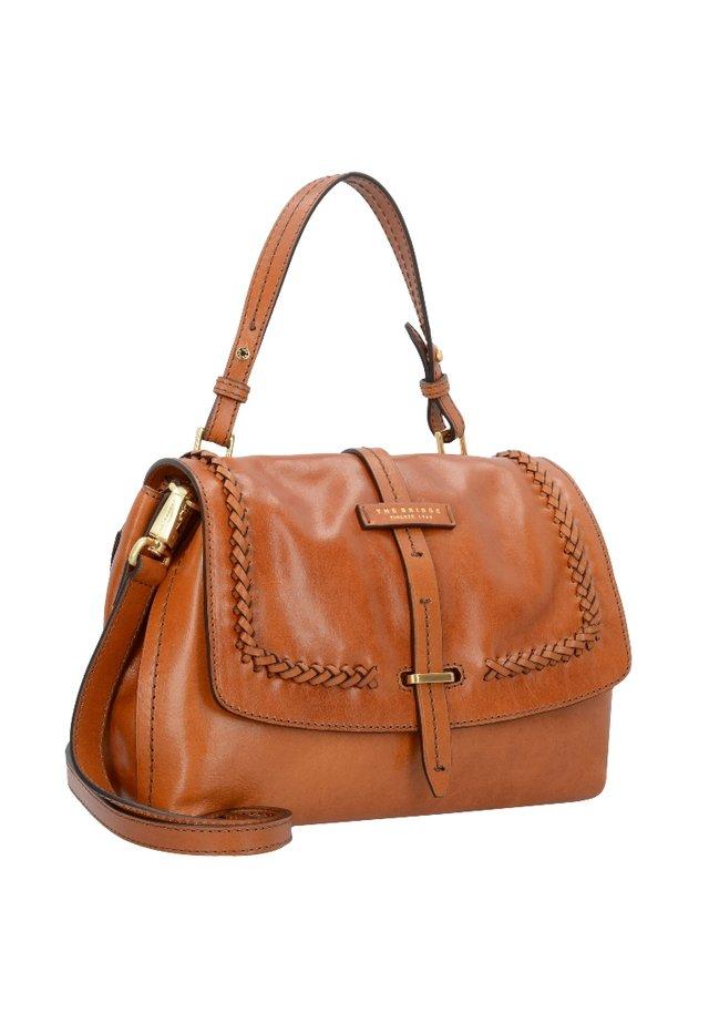 MURAKAMI - Handbag - cognac abb. oro