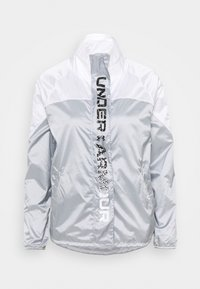 Under Armour - RECOVER SHINE  - Chaqueta de entrenamiento - mod gray - 6